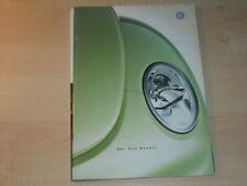 19953) VW New Beetle Schweiz Prospekt 1999