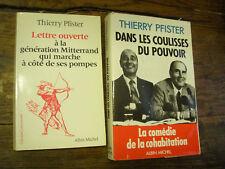 Thierry Pfister dans les coulisses du pouvoir + lettre