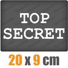 Top secret csf0430 20 x 9 cm JDM sticker autocollant
