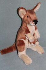 Yomiko Classics Kangaroo Plush Toy doll w/ baby joey