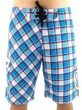 O'Neill Short Bañador Logo Parche Blau Blanco Cuadros texto
