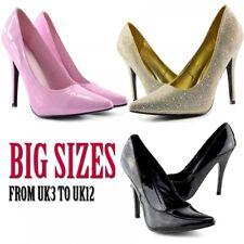 cb646e2981953 Para Mujer Para Hombre Alta el talón stiletto fetiche salir Zapatos Tenis  grandes tamaños 9-12