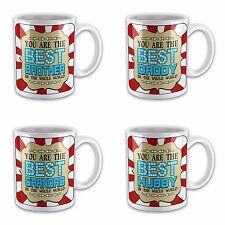 Red Blue Best Son Ever Novelty Gift Mug