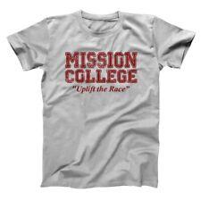 Mission College Maroon Retro School Daze Hillman 80S Pride Gray Men's T-Shirt