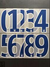 NUMBER / NUMERO LFP FLOCAGE TRANSFERT MONBLASON LIGUE 1 2017-18 BLUE
