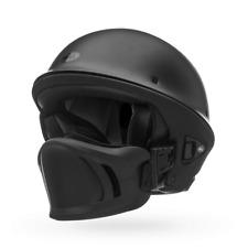 BELL ROGUE MOTORCYCLE ROAD HELMET REMOVABLE FRONT MATT BLACK CRUISER