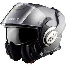 LS2 FF399 Valiant Convert Flip Up DVS Motorbike Motorcycle Helmet Matt Titanium