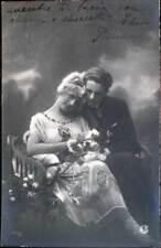 1920  INNAMORATI  uomo donna liberty fiori - ediz.G.E.B. 027/1