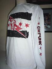 T-SHIRT CATCH WWE CM PUNK BEST IN THE WORD MANCHE LONGUE M,L,XL