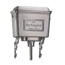 Burlington High Level Aluminium Cistern, White, Black or Polished