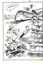 TELEROMPO  4 pag  13  Planche Originale