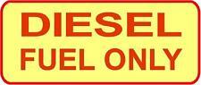 """Deisel Fuel Only""  sticker decal 3"" X 7"""