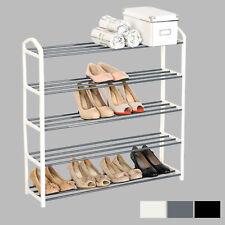 5 Ebene Schuhablage Schuhregal Schuhständer Ständer ca.20 Paare Metallrohr #691