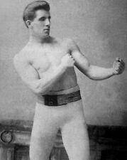 Boxing Heavyweight JIM JAMES CORBETT Glossy 8x10 Photo Boxing Pose Portrait