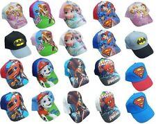 NUOVO bambini ragazzi UFFICIALE Personaggi Basse Baseball Cappello