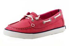 Nautica Girl's Bujama Missy Fuchsia Fashion Slip On Boat Shoes