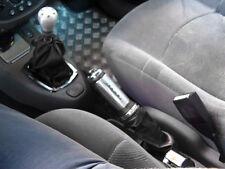 FITS RENAULT CLIO MK2 98-09 GEAR  GAITER BLACK LEATHER NEW