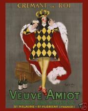 Veuve Amiot Food Wine Ad Poster 16X20  ETP008C