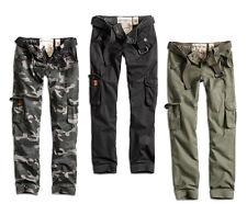 SURPLUS RAW DAMEN PREMIUM SLIMMY CARGO HOSE JEANS Military Pants CHINO PANT