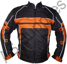 """RANGER"" Cordura Textile Biker Motorcycle Jacket - Reflective Design - All sizes"