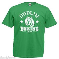 Dublin Boxing Club Boxer Adults Mens T Shirt 12 Colours Size S - 3XL