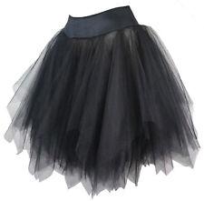 Damen Tutu Unterrock Corsagen Rock Abschlussball kurz schwarz Vakuumbeutel
