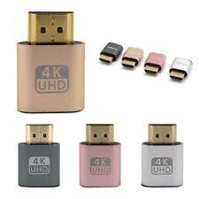 Plate Screen DDC EDID Dummy Plug HDMI 1.4 Virtual Display Emulator Adapter