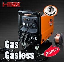 Newest MODEL MIG 195 Amp GAS / GASLESS WELDER Welding Machine