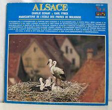 """2 x 33 tours ALSACE LP 12"""" SCHAAF FYNCK MANECANTERIE ECOLE FRERES MULHOUSE VOGUE"""