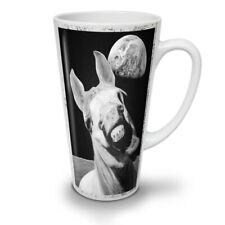 Spazio di Cavallo Animale BUFFO NUOVO White Tea Tazza Da Caffè Latte Macchiato 12 17 OZ (ca. 481.93 g) | wellcoda