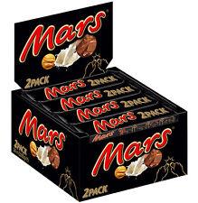 FULL BOX of MARS 2PACK CHOCOLATE BARS 24 x 69g 2.43oz