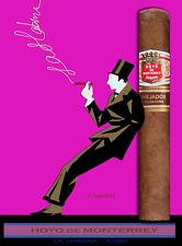 Quality Tobacco POSTER.Cuban Cigar.Hoyo de Monterrey.Room home decor art.q0107
