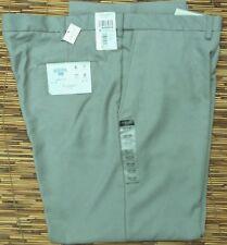 HAGGAR COOL 18 MENS CLASSIC FIT NO IRON FLEX WAIST FLAT FRON DRESS PANTS LIST$55