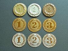 Embleme  ZAHLEN, 1, 2 und 3 in versch. Farben  50 mm