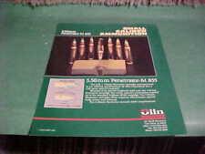 1991 OLIN WINCHESTER 5.56MM AMMUNITION SALES FLYER