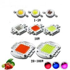 LED Plant Grow light chip Full spectrum Royal Blue 450NM Deep Red 660NM 1W-150W