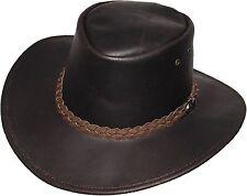 Lederhut Hut echt Leder Australien Outdoor Australian Hats NEU