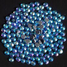 BLUE ZIRCON AB TSS Bulk Wholesale Hotfix Ironon Rhinestone Flatback Premium Qlty