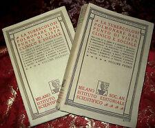 Libro Antico 1925 La Tubercolosi Polmonare dal Punto di Vista Clinico e Sociale