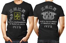 ENTER the DRAGON unisex T Shirt Hans Tournament Bruce Lee MMA Retro movie black