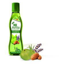 New Bajaj Amla Non-Sticky Hair Oil With Almond Oil & Rosemary Oil - 160 ML