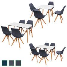 vidaXL Ensemble de table et chaise à manger cuisine 5/7 pièces Multicolore