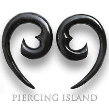 Par! 4/6/8/10/12mm garra Claw cuerno bollos túnel oreja ear piercing 137