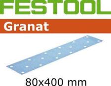 Festool Granat 80x400mm Cintas de lijado ADHESIVO P40-P320 para P. EJ. LRS 400
