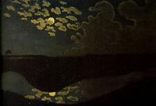 Felix vallotton moonlight 1894 vintage print