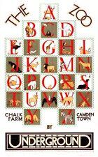 1928 London Zoo Alphabet Poster A3 / A2 Print
