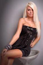 fête Vêtement club moderne stylé paillettes robe UK Taille 8-10