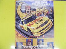 Kodak Film 4 Ernie Irvan Chevrolet Lumina 1991 Daytona 500 Champion Poster New