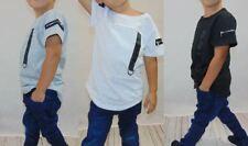Jungen T-Shirt Shirt 3versch Farben Gr. 98-152