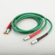 1 Pair Hifi Audio 2328 Pure Copper HiFi Audio cable RCA interconnect cable